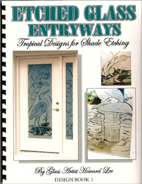 etched glass design book