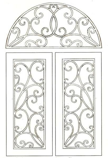 Custom Stained Glass Pattern, etching, carve, mosaic patterns full